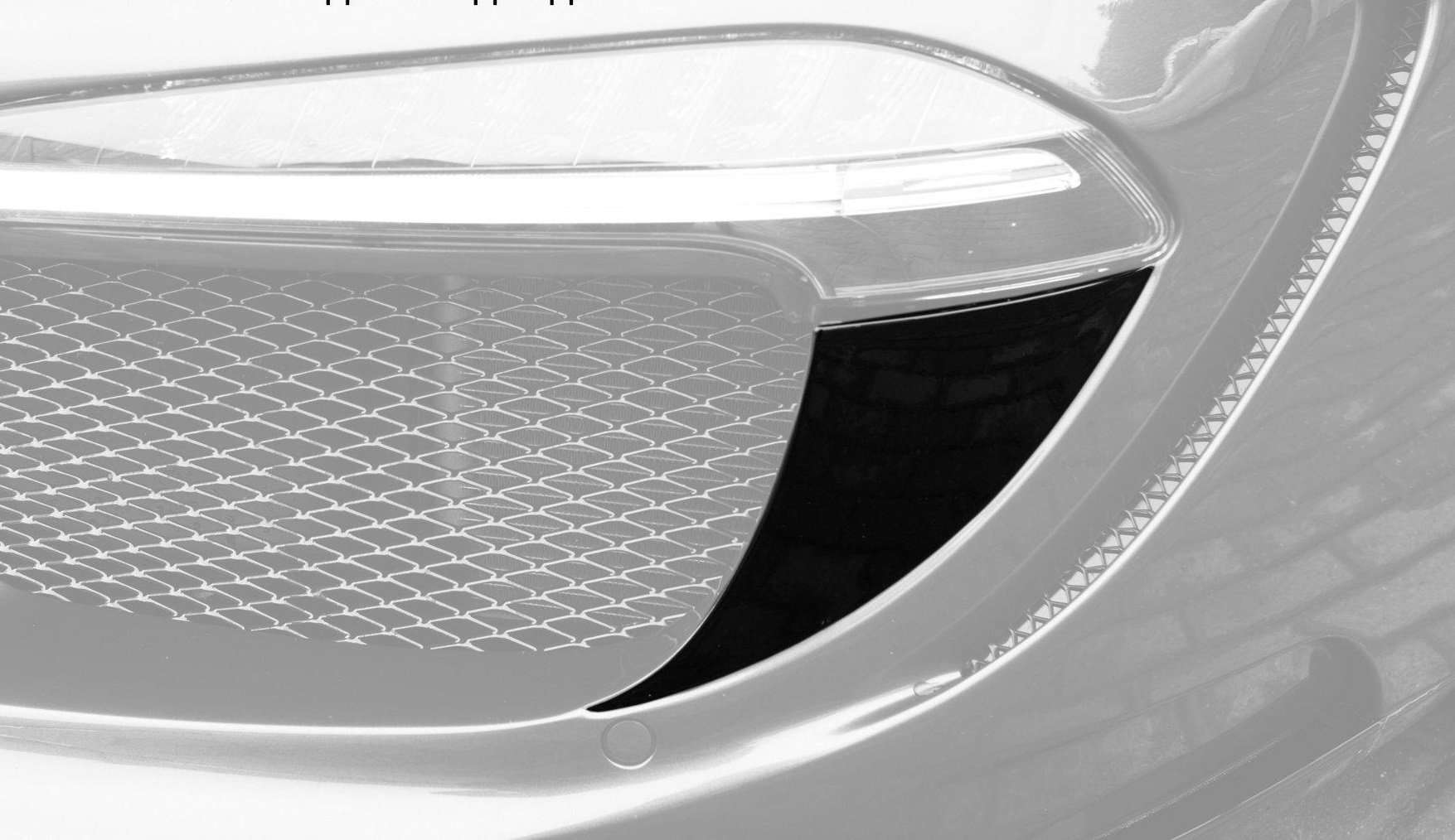 LED inserts for Front Bumper, Carbon for 911 Carrera ...
