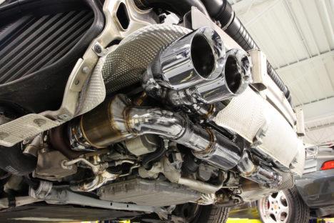 Fabspeed Porsche 991 Turbo Turbo S Supersport X Pipe Exhaust