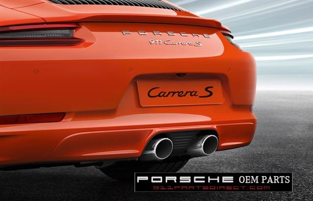 Paintable Rear Valance Sport Exhaust Sale: Porsche 911 Sport Exhaust At Woreks.co