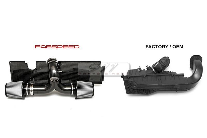 Fabspeed Porsche 996 Carrera Carbon Fiber Competition Air ...