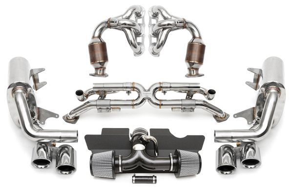 Exhaust 991 Carrera Valvetronic Performance Package ...
