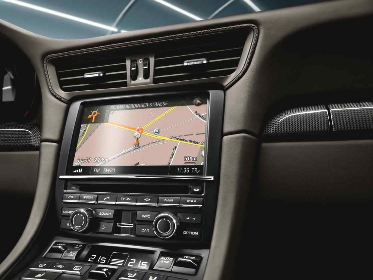 Porsche Communication Management (PCM) with Navigation Module and Universal  Audio Interface