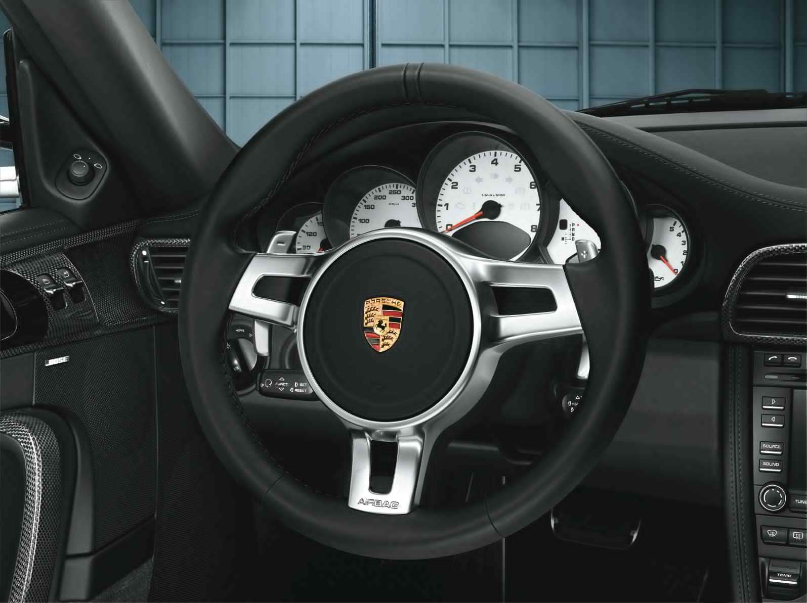 SportDesign Steering Wheel for 911 (997 II) - Porsche 911 ...